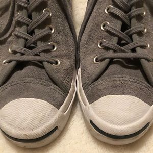Converse Shoes - Suede Converse Jack Purcell sneakers